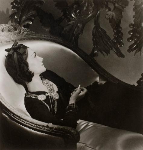 Coco Chanel, por Horst P. Horst. París, 1937. ©� Autor.