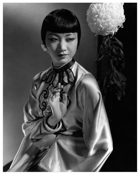 La actriz Anna May Wong. Por Edward Steichen. Vanity Fair, 1931.